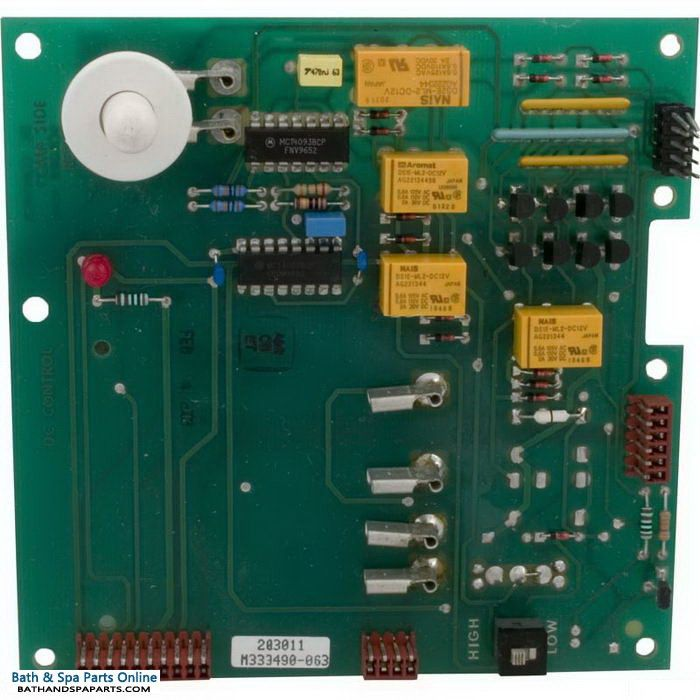 Hydro Spa DC 4-Function PCB Circuit Board (203011)