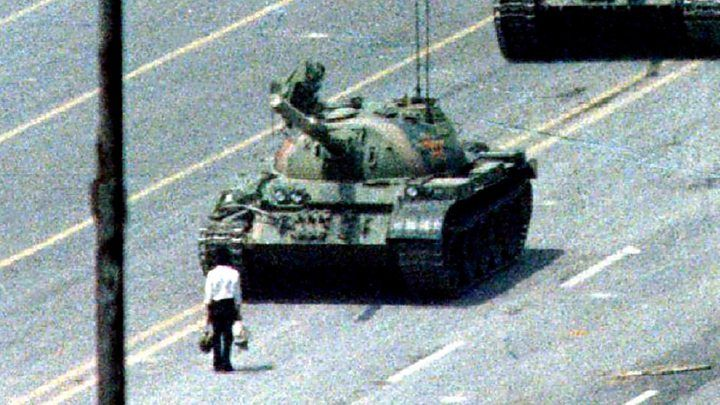 China Defends Tiananmen Crackdown In Rare Comments Tank Man