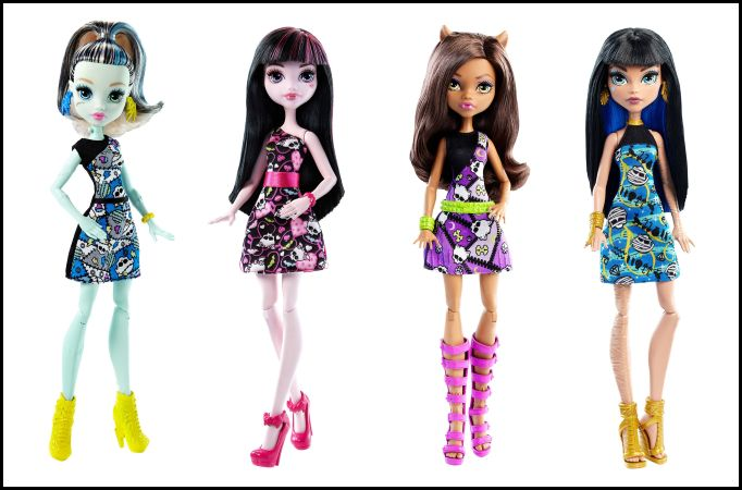 Coming Soon: Monster High Basic Core Dolls - Budget Line