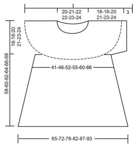 """Dune Top - Strikket DROPS top i """"BabyAlpaca Silk"""" med bølgemønster og rundt bærestykke. Strikket ovenfra og ned. Str S - XXXL. - Free pattern by DROPS Design"""