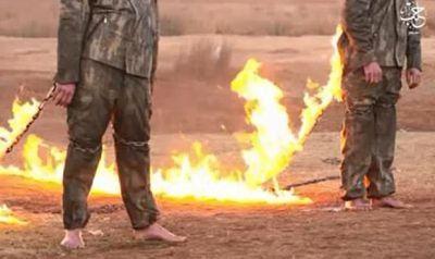 BRUTAL; Estado Islámico quema vivo al predicadorAbu Qutaiba por afirmar muerte deAbu Bakr al Baghdadi