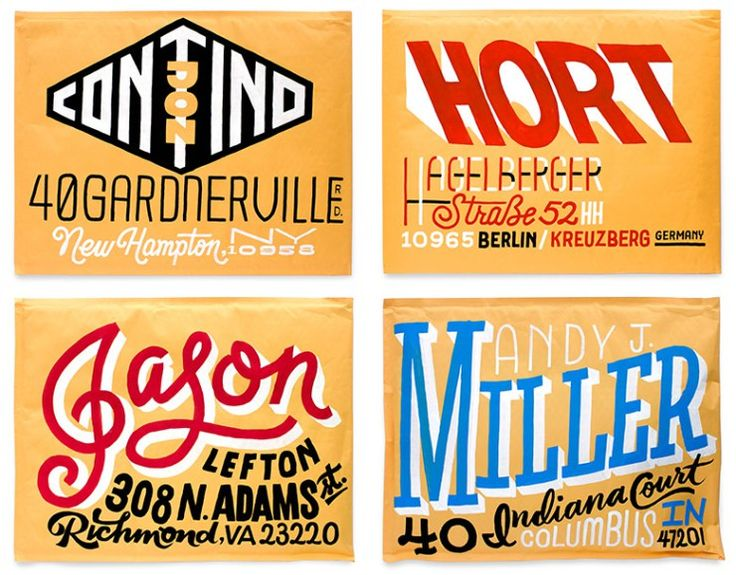 Do Not Open - A lettering project by Erik Marinovich