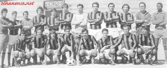 Equipa de 1972/73.