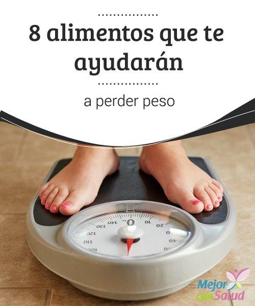 8 alimentos que te ayudarán a perder peso   Todos queremos mantenernos en forma y, a la vez, estar sanos y lograr un peso adecuado. Sin embargo, esta es una tarea que no siempre conseguimos.