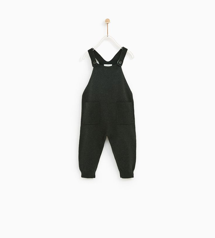 KNIT DUNGAREES WITH POCKETS-NEW IN-BABY BOY | 3 months - 4 years-KIDS | ZARA United States