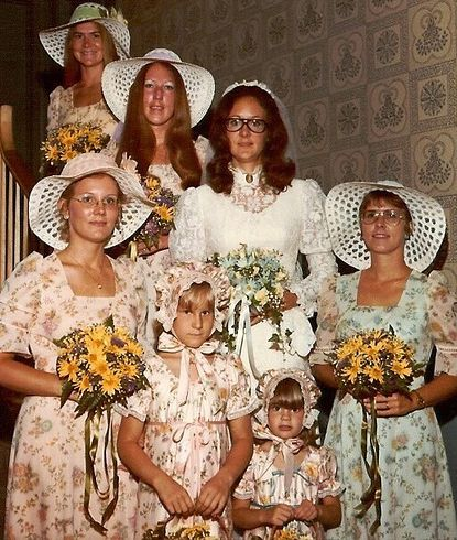 1970s Wedding Hats - and not just weddings!