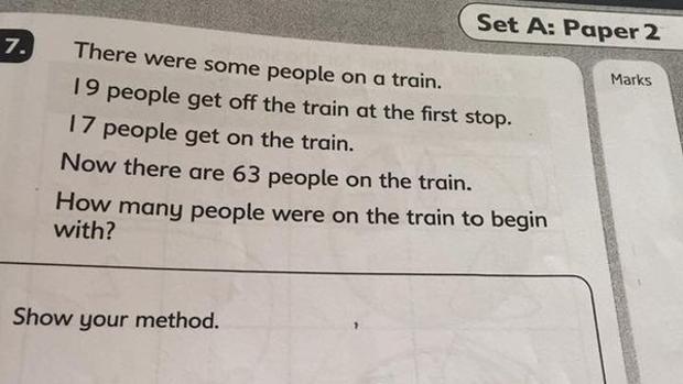 Die Lösung dieses Rätsels scheint zunächst recht simpel zu sein. - Twitter/Louise Bloxham