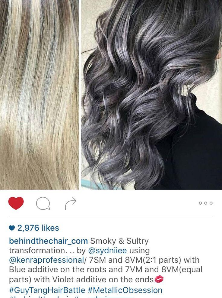 Kenra Metallics Formulas In 2019 Kenra Hair Color