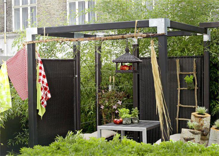 25 beste idee n over hoek pergola op pinterest kleine pergola zitplaatsen inde tuin en zit - Eigentijds pergola hout ...