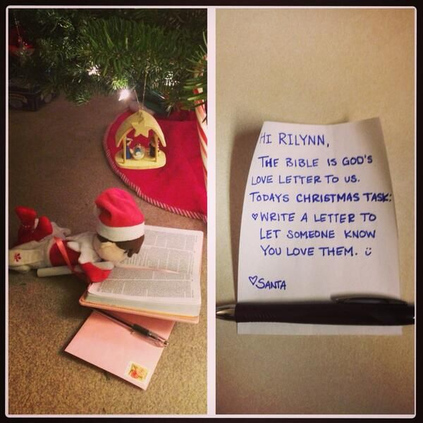 Elf on The Shelf Jesus Style. Using your Elf to teach what Christmas is all about..