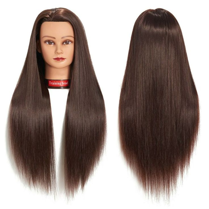 Mannequin Head With Hair Female Style Cosmetology Manikin