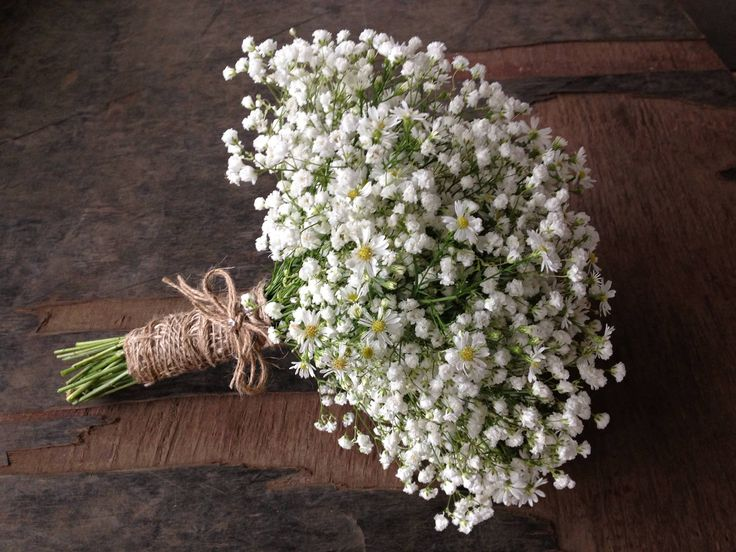 Baby's breath inspired bridal bouquet by Angie's Floral Design, Thornlands (Brisbane, QLD)