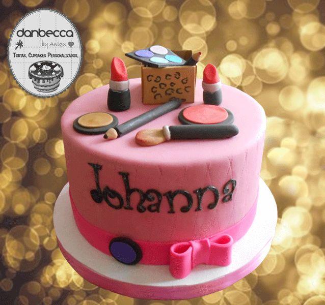 Makeup cake / Torta Maquillaje