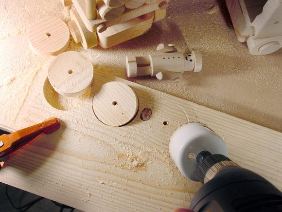 "How to Easily Make Small (under 3"") Perfect Wood Toy Wheels"
