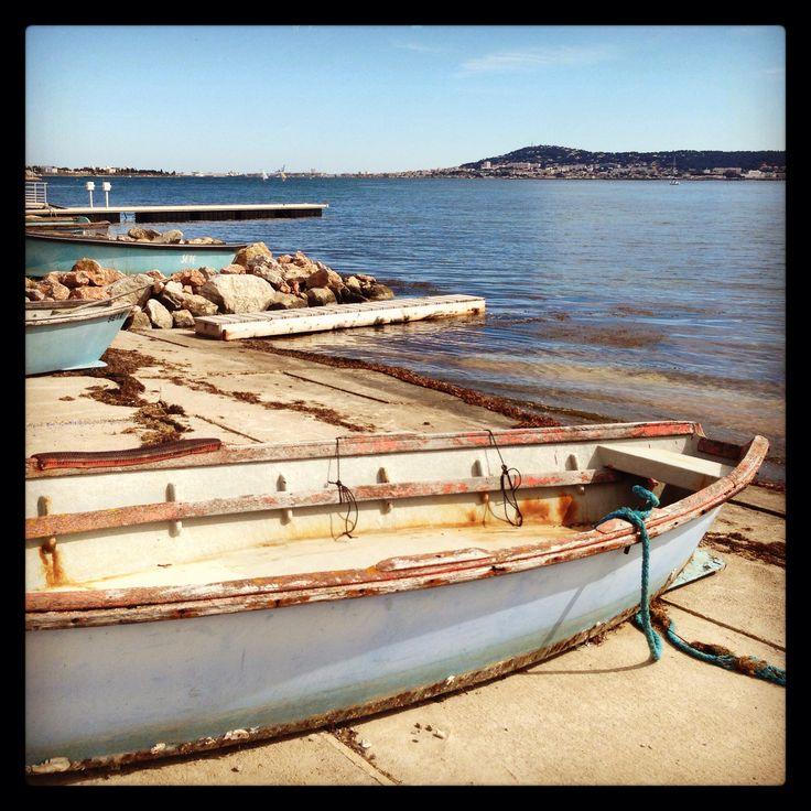 Barques et étang