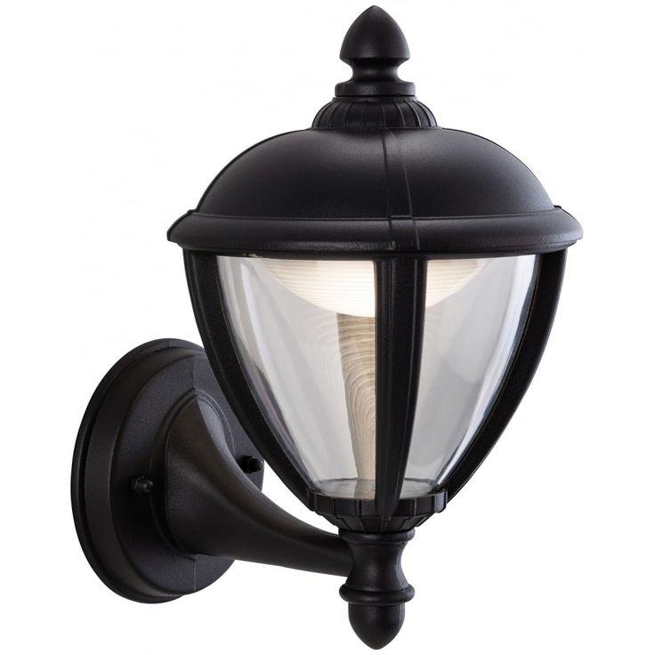 Unite Black Antique Outdoor LED Lantern - Uplight #ideas4lighting #clanyrelighting #pendants #tablelamps #art #design #floorlamps #eglo #2017 #ceilinglights #lighting #crystal #chrome #diamonds #cafe #restaurant #business #lights #future #outdoorlighting #outdoor #concrete