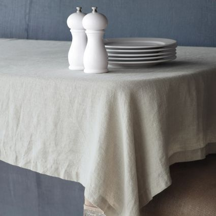 Natural Linen Tablecloth, available at #surlatable