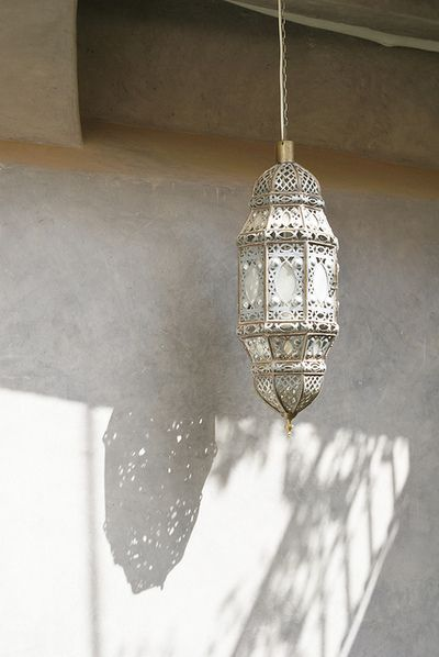 Morocco ✿⊱╮light fixtures are cool when you let them be cool.