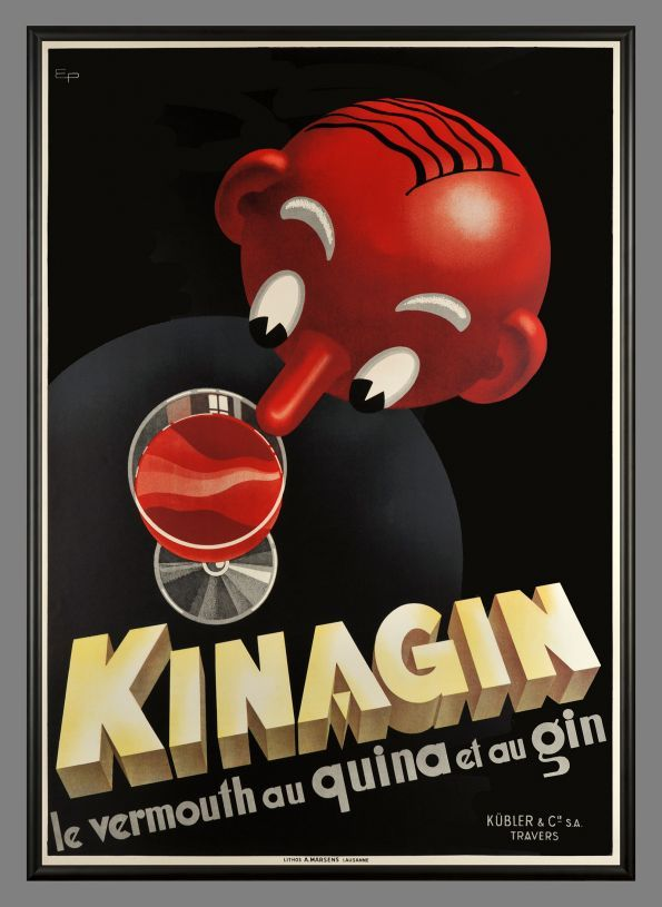 Kinagin, le vermouth au Quina et au Gin - 1941