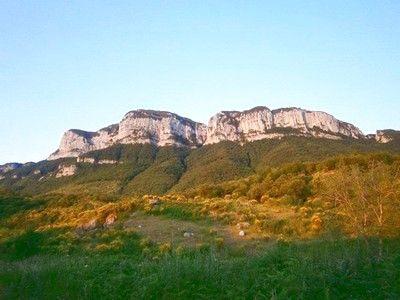 Monti Alburni e la Valle del Tanagro