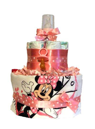 Minnie Mouse s látkovou plienkou