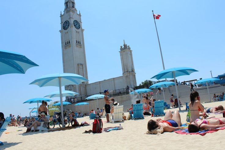 Montreal's Clock Tower Beach Schedule