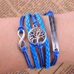 Tree of Life, Infinity Bracelet  http://finishingtouchaccessories.com.au/