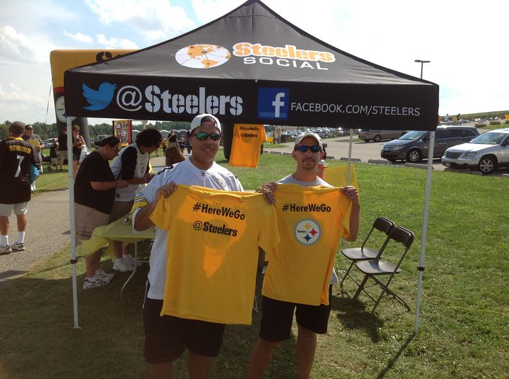 More winners of the new Steelers Social shirt. Be sure to follow the Steelers on & 53 best Steelers Training Camp 2013 images on Pinterest | Steeler ...