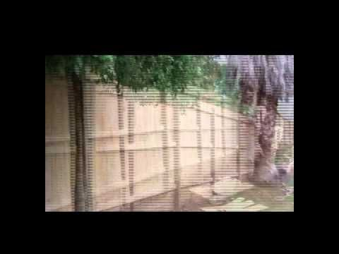 Video 9: Building a fence - the finished product, build by Auckland Fences.