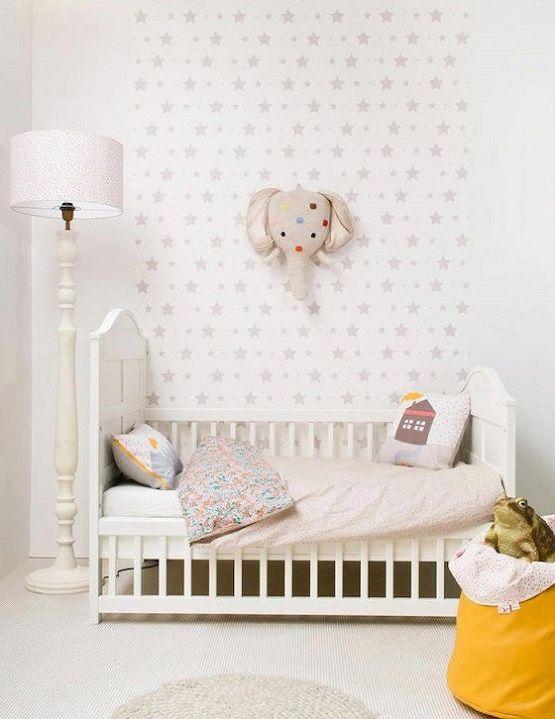 128 mejores im genes sobre papeles pintados infantiles en - Papeles pintados para bebes ...
