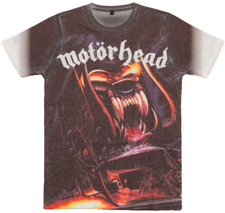 Camiseta de Motörhead Orgasmatron #rock #heavymetal #lemmy #motorhead #orgasmatron #xtremonline