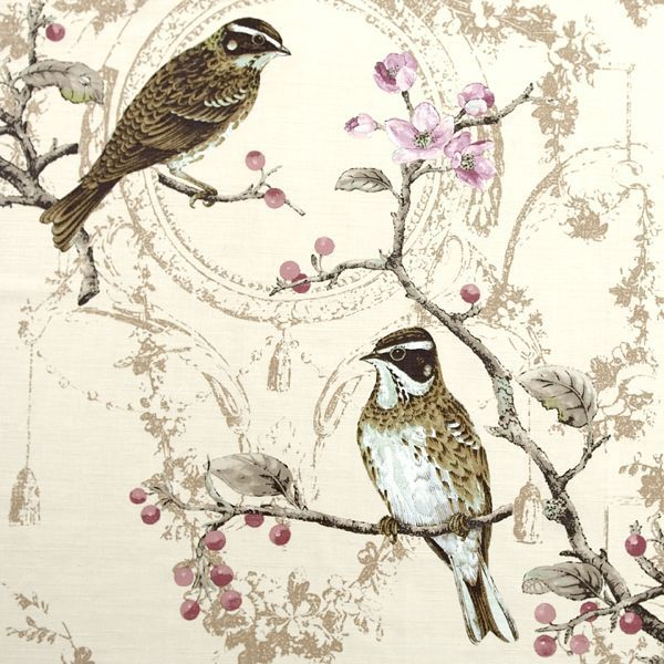 17 Best images about Bird and flower curtains on Pinterest ...