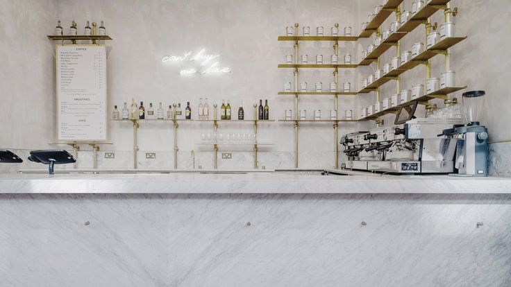 Biasol designs marble-rich cafe in historic London stock exchange ›
