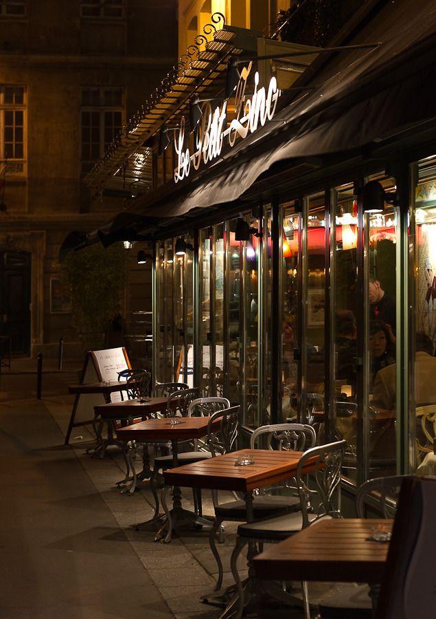 Le Petite Zinc, Rue, St. Benoit, Paris, France