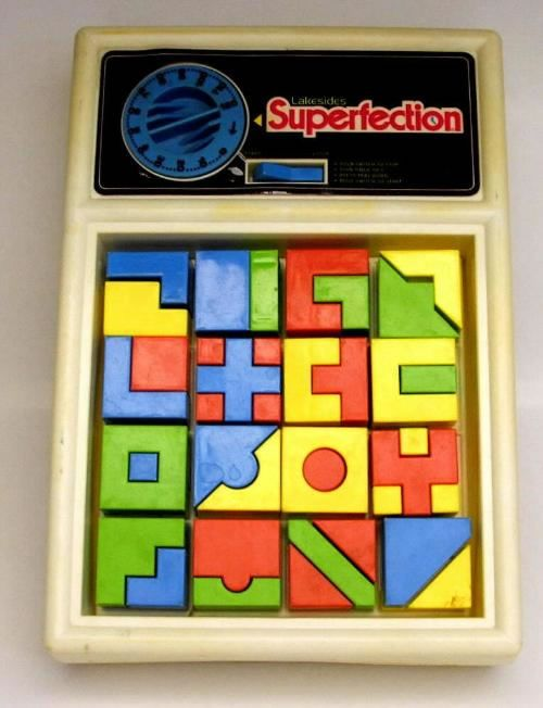 Superfection - as if Perfection wasn't hard enough.