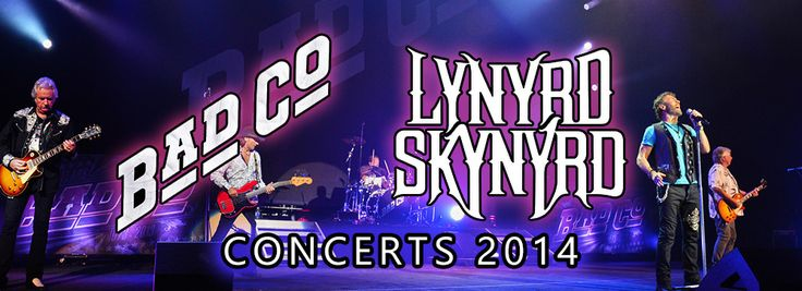 Co-headline shows Bad Co & Lynyrd Skynyrd 2014