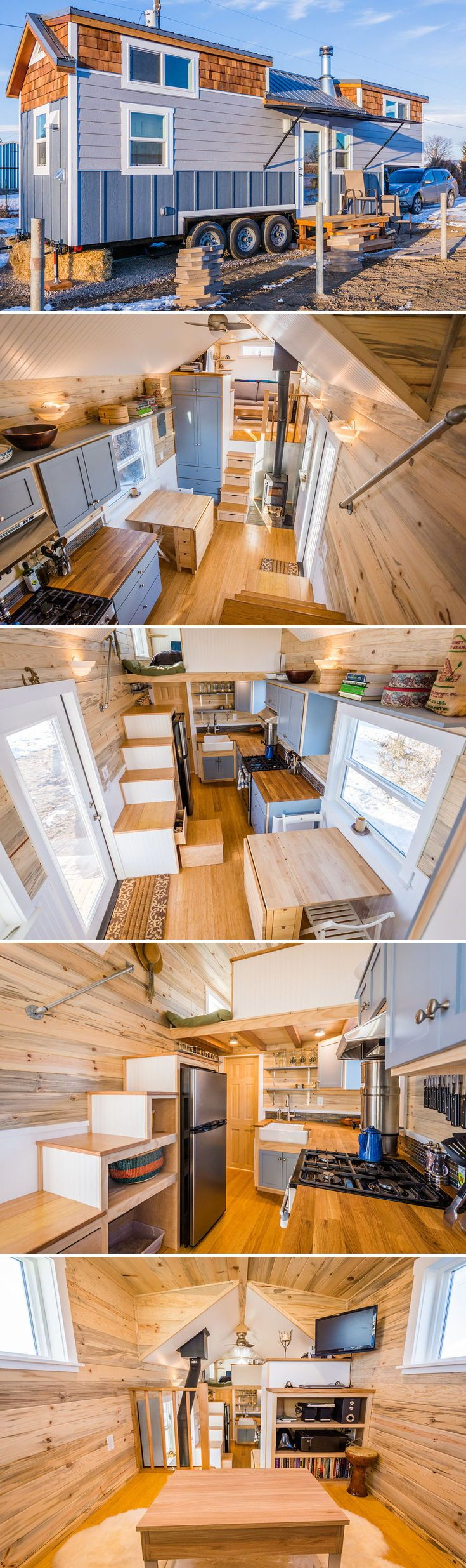 best tinyhouse images on pinterest small houses tiny house