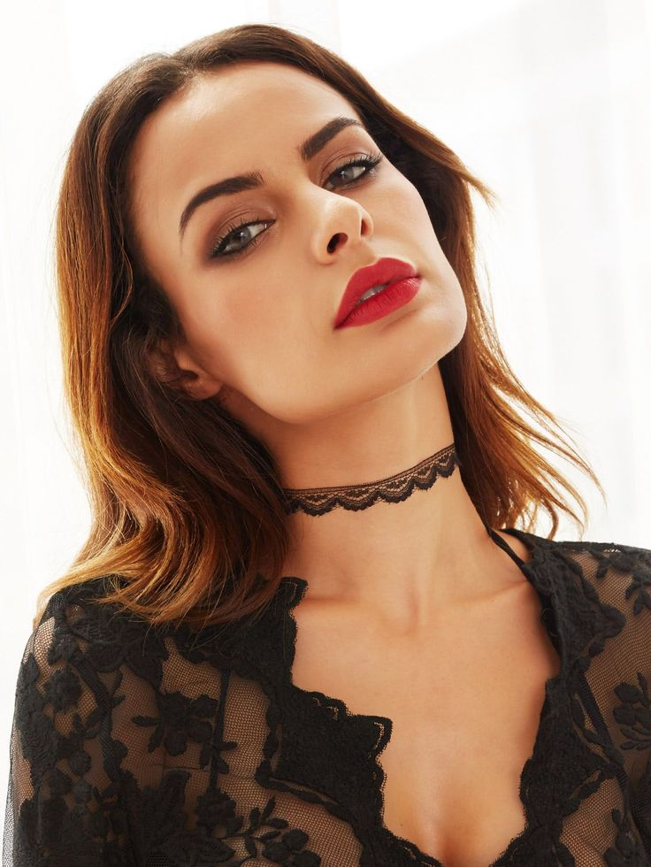 Shop Black Simple Lace Choker Necklace online. SheIn offers Black Simple Lace Choker Necklace & more to fit your fashionable needs.