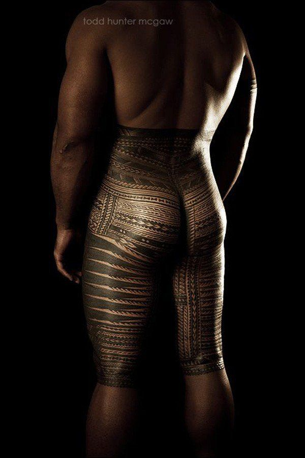 History - Tatau is the Samoan word for tattoo. In 18th century, when early Europeans reached Samoa and mispronounced the word tatau as tattoo, which led to the wide use of the mispronounced word. Samoans have two kinds of gender specific tattoos for male and female. The Samoan tatau (tattoo) for men is called pe'a, which consists of intricate geometrical patterns covering areas from waist to knees.