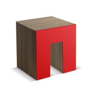 Panca Red Designer: Skemp Design Misure: 50 X 40 X 45