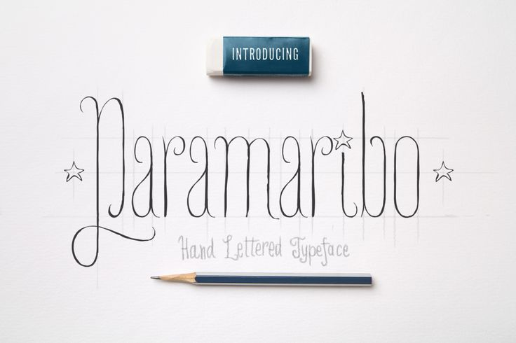 Paramaribo Font family by Fontop available for $14.00 at FontBundles.net