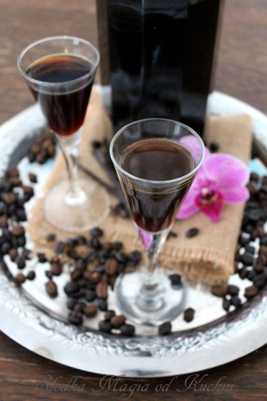 Likier kawowy z wanilią