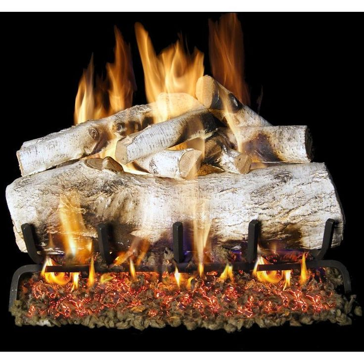 Peterson Real Fyre 30-Inch Mountain Birch Gas Logs (Logs Only - Burner Not Included) available at Gas Log Guys.com. The craftsmanship of...