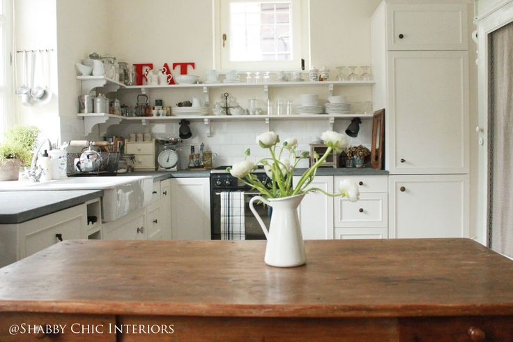 Shabby Chic Interiors: Restyling di una cucina Ikea