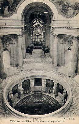 Hôtel des Invalides, le tombeau de Napoléon 1er