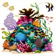 Cutout Prop Coral Reef $20.95 BE52076
