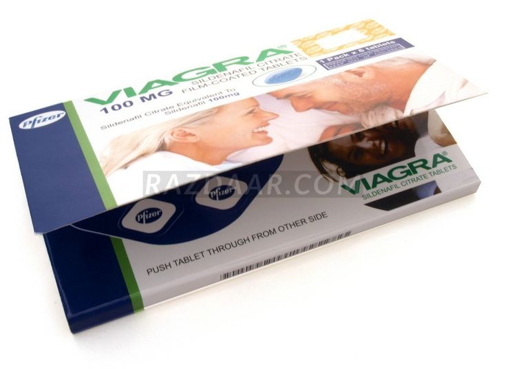 PFIZER VIAGRA 100MG | PACK OF 6 TABLETS | Rs. 1950