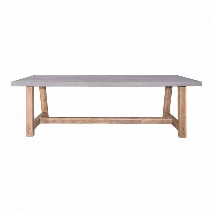 Marson Faux Cement Table 2400X1000mm
