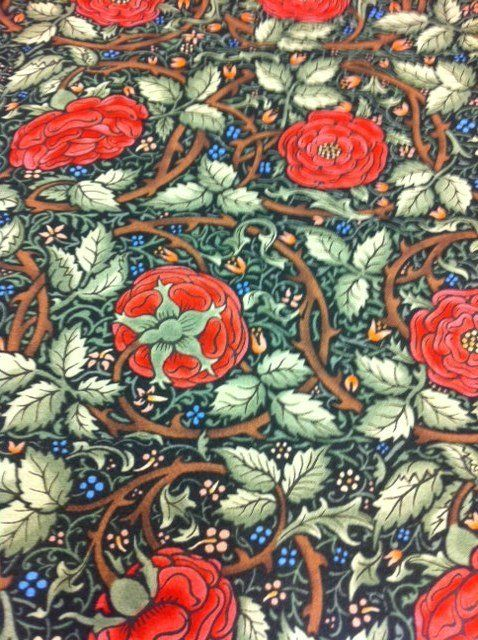 Best Arts And Crafts Movement Images On Pinterest William - Arts and crafts fabric patterns