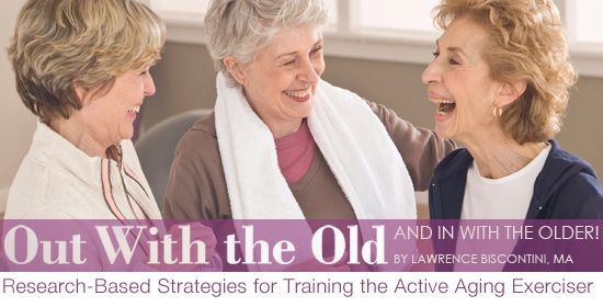 The American Geriatrics Society recommends that fitness facilities offer a strong group exercise program for the baby boomer market, which roughly spans the wide age range from individuals born in 1946 (like Liza Minnelli) to 1965 (Michelle Obama). To keep abreast of the current research for integrating functional training for participants at the older end of this spectrum, here appear many research-based take-away training tips for clients and classes.